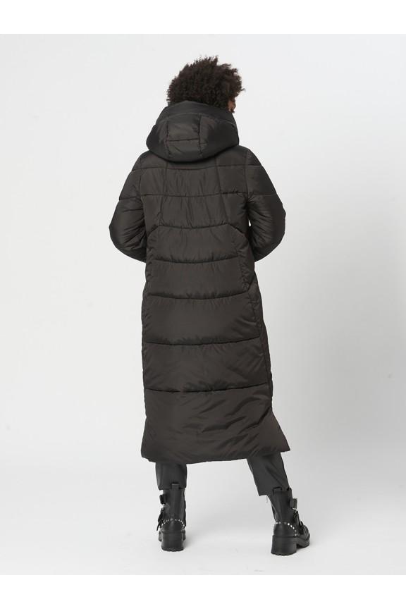1933 Пальто Молния Черный
