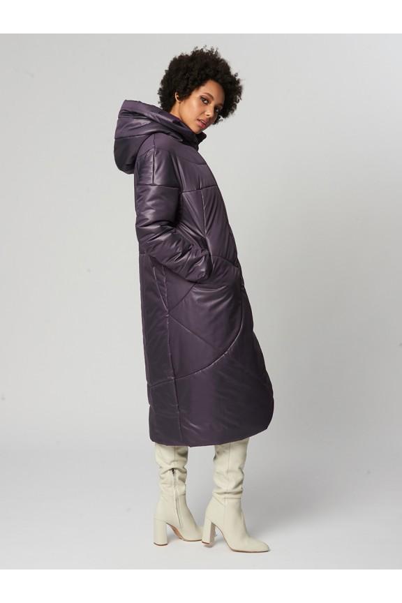1934 Пальто Фрида Фиолетовый