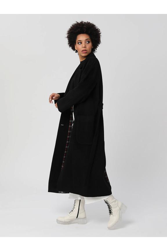2002 Пальто Черный