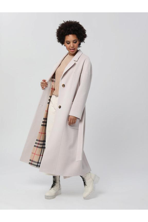 2002 Пальто Светло-серый