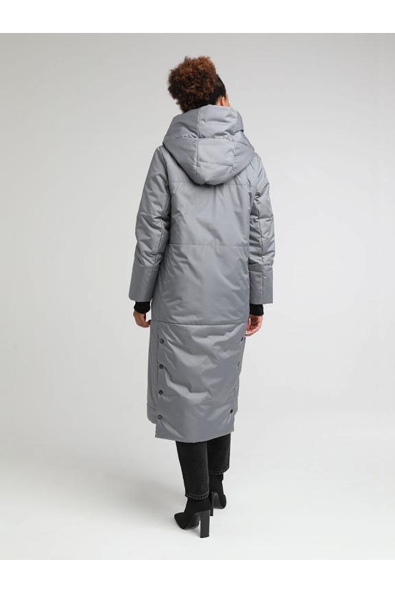 2042 Пальто КРЕМЛЁВСКАЯ Серый