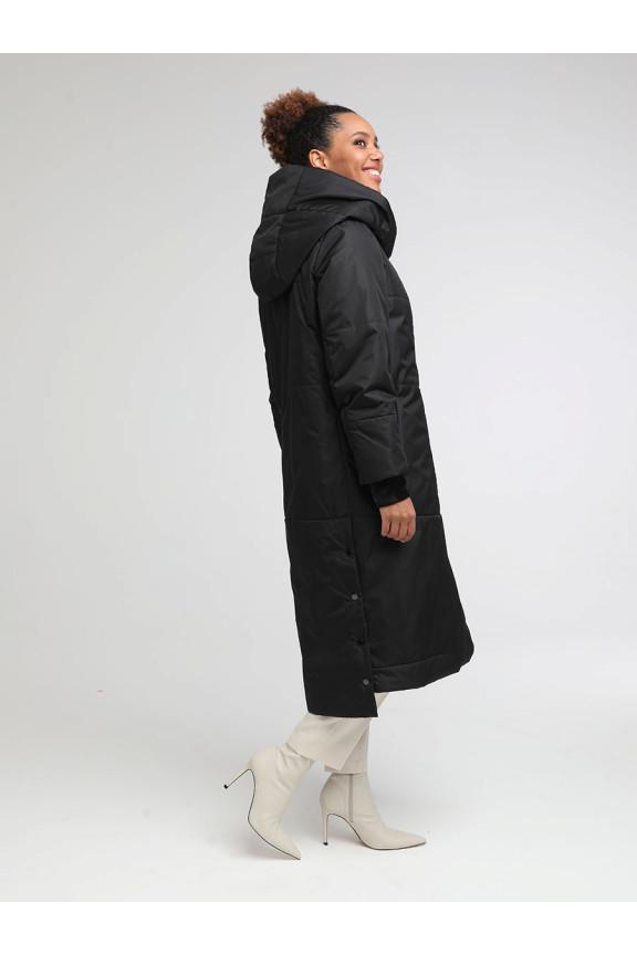 2042 Пальто КРЕМЛЁВСКАЯ Черный