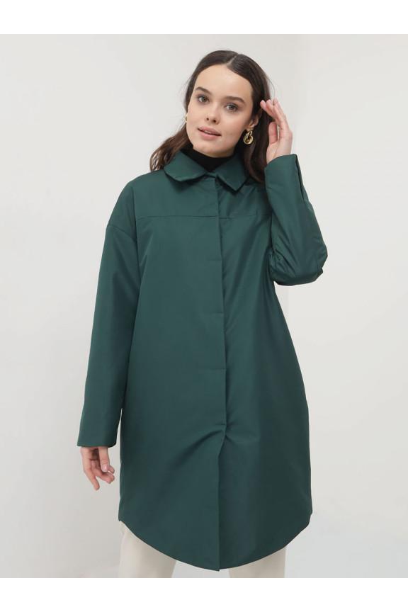 2106 Плащ Темно-зеленый
